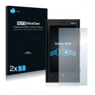 2x Ochranná fólia pre Nokia Lumia 920 - predná