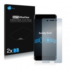 2x Ochranná fólia pre Nokia 6 - predná