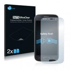 2x Ochranná fólia pre Samsung Galaxy Ace 3 (duos) S7272 - predná