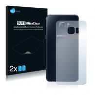 2x Ochranná fólia pre Samsung Galaxy S6 Edge Plus - zadná