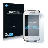 2x Ochranná fólia pre Samsung Galaxy Young Duos S6312 - predná