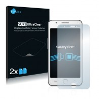 2x Ochranná fólia pre Samsung Z1 - predná