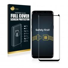 Full Cover tvrdené sklo pre Samsung Galaxy S8 čierne
