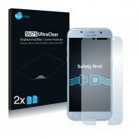 2x Ochranná fólia pre Samsung Galaxy A3 (2017) - predná