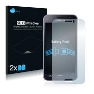 2x Ochranná fólia pre Samsung Galaxy J1 2016 - predná