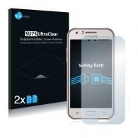2x Ochranná fólia pre Samsung Galaxy J1 Mini - predná