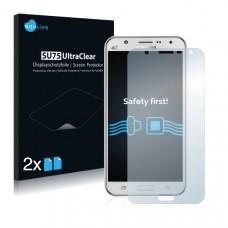 2x Ochranná fólia pre Samsung Galaxy J7 2015 - predná