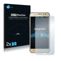 2x Ochranná fólia pre Samsung Galaxy J7 2016 - predná