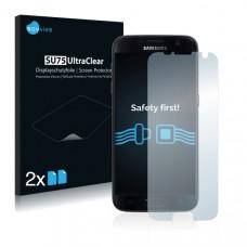 2x Ochranná fólia pre Samsung Galaxy S7 Edge - predná