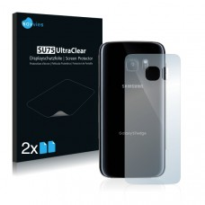 2x Ochranná fólia pre Samsung Galaxy S7 Edge - zadná