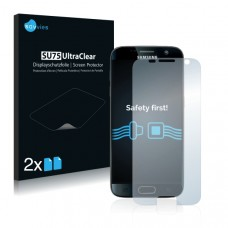 2x Ochranná fólia pre Samsung Galaxy S7 - predná