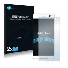 2x Ochranná fólia pre Sony Xperia C5 Ultra - predná