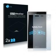 2x Ochranná fólia pre Sony Xperia Acro S LT26w Hikari - predná