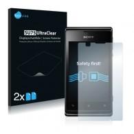 2x Ochranná fólia pre Sony Xperia E C1505 - predná
