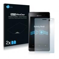 2x Ochranná fólia pre Sony Xperia Go ST27i - predná