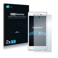 2x Ochranná fólia pre Sony Xperia M4 Aqua - predná