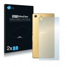 2x Ochranná fólia pre Sony Xperia M5 - zadná