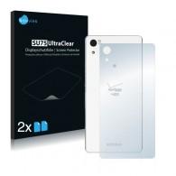 2x Ochranná fólia pre Sony Xperia Z4v - zadná