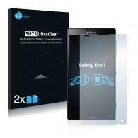 2x Ochranná fólia pre Sony Xperia ZL C6503 - predná