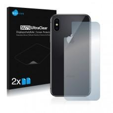 2x Ochranná fólia pre Apple iPhone X - zadná