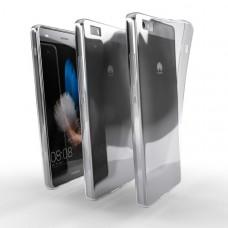 Ochranné TPU púzdro pre Huawei P8 Lite 2015/2016 priehľadné