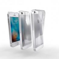 Ochranné TPU púzdro pre Apple iPhone 5S priehľadné
