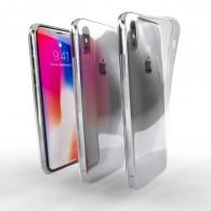 Ochranné TPU púzdro pre Apple iPhone X priehľadné