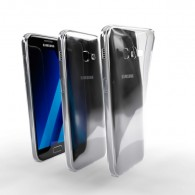Ochranné TPU púzdro pre Samsung Galaxy A3 2017 priehľadné