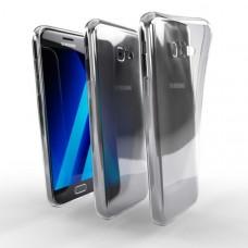 Ochranné TPU púzdro pre Samsung Galaxy A5 2017 priehľadné