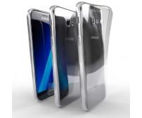 Ochranné TPU púzdro pre Samsung Galaxy A7 2017 priehľadné