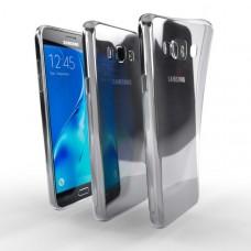 Ochranné TPU púzdro pre Samsung Galaxy J5 Duos 2016 priehľadné